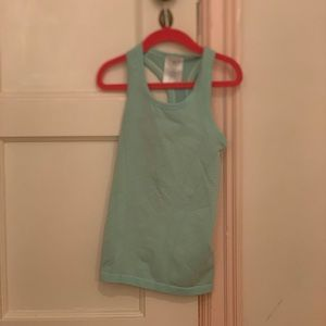 Lululemon and ivivva tank top. Great condition